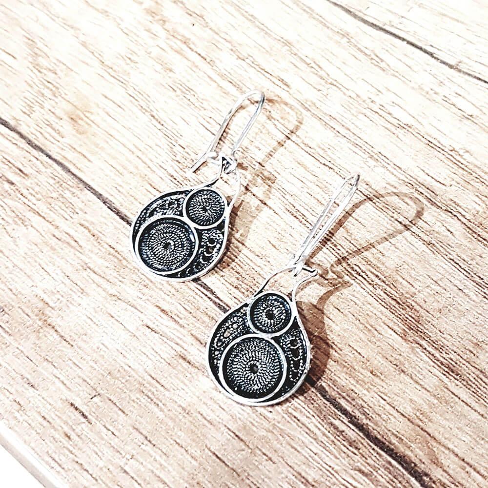Silver earrings 1430